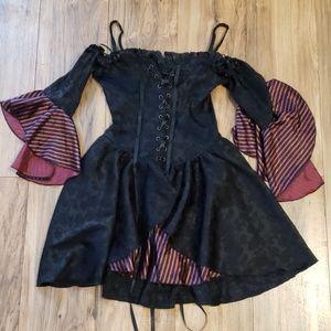 Lip Service Wench Witch Vampire Corset Costume